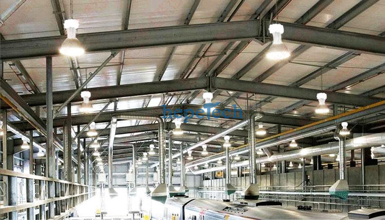 Six Advantages Of Led High Bay Warehouse Lighting Fixtures