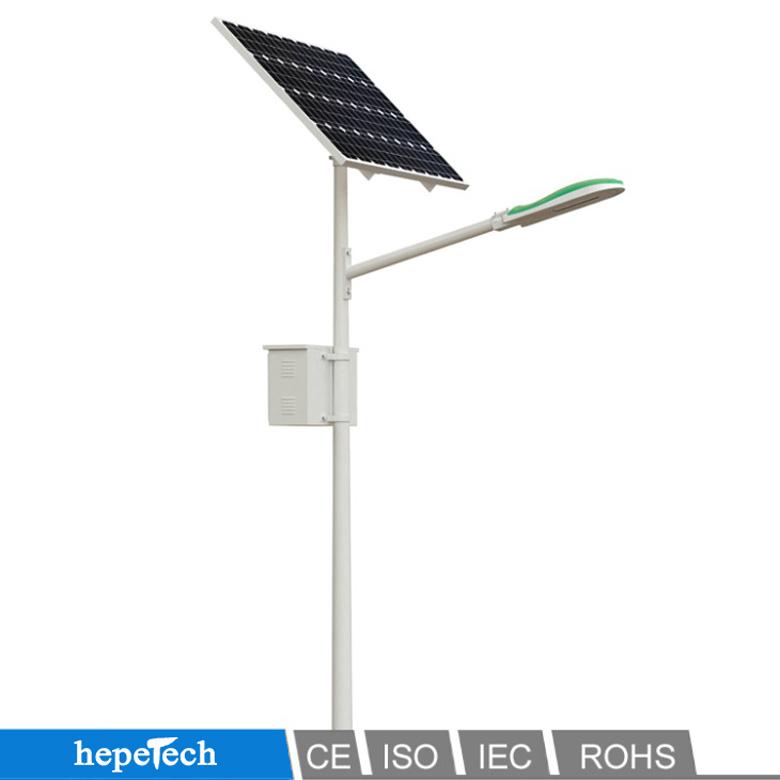 Street Light With Solar Panel: Modular IP66 Solar Panel Street Lights 20W- 60W Die